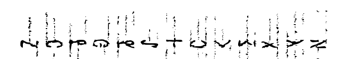 !Futurelic Font LOWERCASE