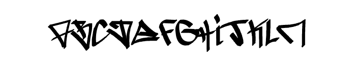 -ghetto-blasterz- Font UPPERCASE