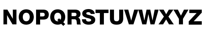 .Helvetica Neue Interface Heavy Font UPPERCASE
