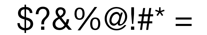 .Helvetica Neue Interface M3 Font OTHER CHARS
