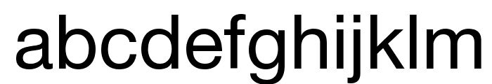 .Helvetica Neue Interface Font LOWERCASE