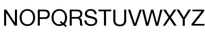 .Helvetica NeueUI Font UPPERCASE