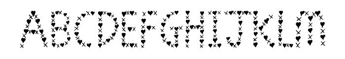 *Jen Luvs Ben*[4ever] Font LOWERCASE