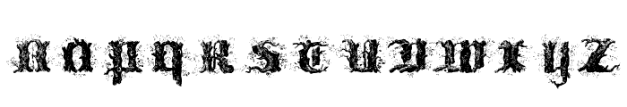 !Limberjack Font LOWERCASE