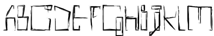 !MISQOT DemiBold Font UPPERCASE