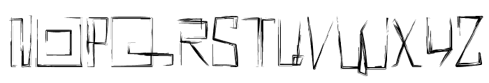 !MISQOT Font UPPERCASE