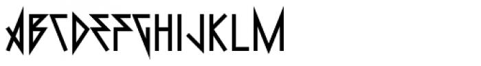 0Metal Heavy Font UPPERCASE