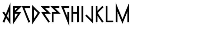 0Metal Heavy Font LOWERCASE