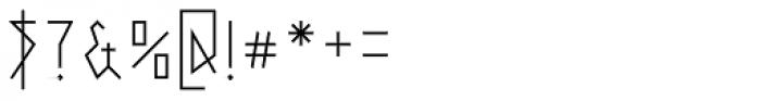 0Metal Medium Font OTHER CHARS