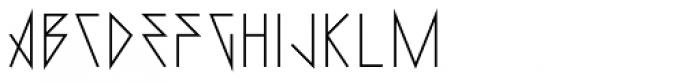 0Metal Medium Font LOWERCASE