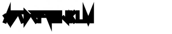 0Metal NORD Font LOWERCASE