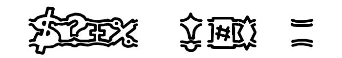 {ogrejuice} Font OTHER CHARS