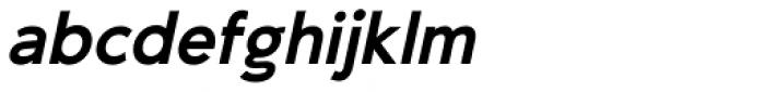 -OC Pajaro Bold Oblique Font LOWERCASE