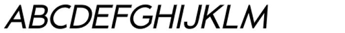 -OC Pajaro Regular Oblique Font UPPERCASE