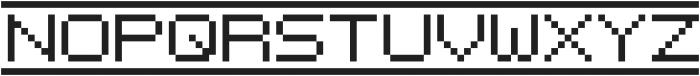 {PixelFlag} ttf (400) Font UPPERCASE