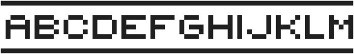 {PixelFlag} ttf (400) Font LOWERCASE