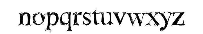 !Sketchy Times Bold Font LOWERCASE