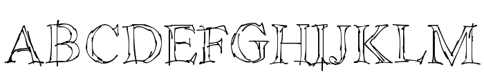 !Sketchy Times Font UPPERCASE