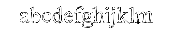 !Sketchy Times Font LOWERCASE