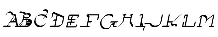 !Sutura Frontalis Bold Italic Font UPPERCASE