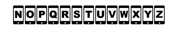 [smartphone] Font UPPERCASE