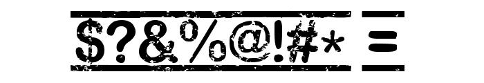 [TOP_SECRET] Font OTHER CHARS
