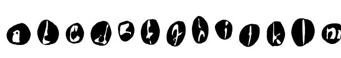 !the troubles Font UPPERCASE