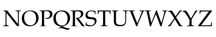 .VnBook Antiqua Font UPPERCASE