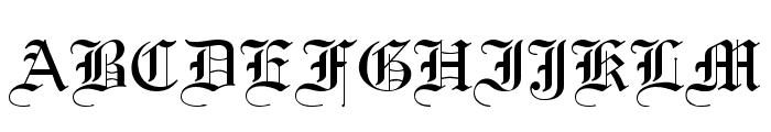 .VnLincolnH Font LOWERCASE
