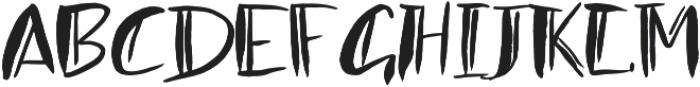 1 double ink font otf (400) Font UPPERCASE