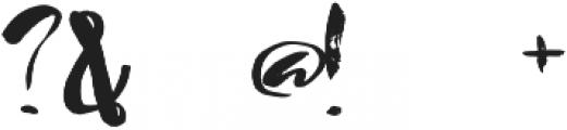 1 ink grunge font otf (400) Font OTHER CHARS