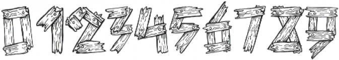 1 old wooden font otf (400) Font OTHER CHARS