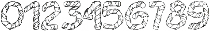 1 wrapped in ribbon font otf (400) Font OTHER CHARS