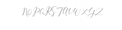 1 Rachela Script.ttf Font UPPERCASE