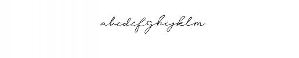 1 Font LOWERCASE