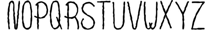 10 Fonts Christmas 2019 Blessed Bundle 3 Font UPPERCASE
