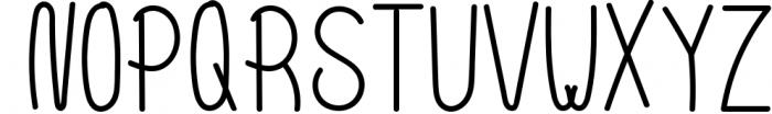 10 Fonts Christmas 2019 Blessed Bundle 8 Font UPPERCASE