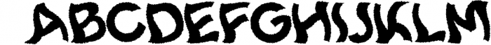 10 Fonts Christmas 2019 Blessed Bundle 9 Font UPPERCASE