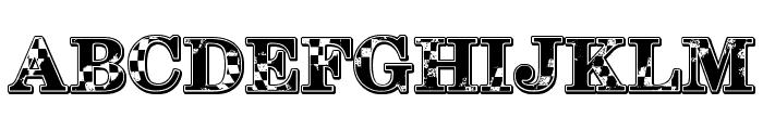1-2-3 GO! Font UPPERCASE