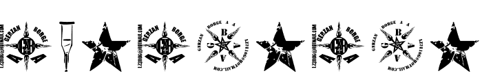 1 Punk Font OTHER CHARS