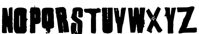 1 Punk Font UPPERCASE