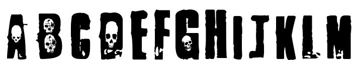 1 Punk Font LOWERCASE