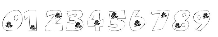 101! A Rose fer U Font OTHER CHARS
