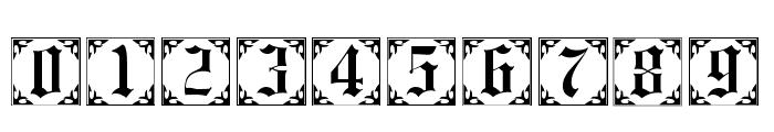 101! Antique Alpha II Font OTHER CHARS