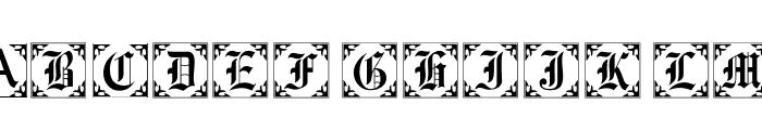 101! Antique Alpha II Font UPPERCASE