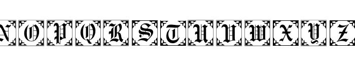 101! Antique Alpha II Font LOWERCASE