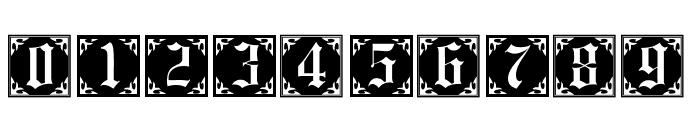 101! Antique Alpha Font OTHER CHARS