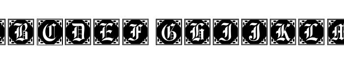 101! Antique Alpha Font UPPERCASE