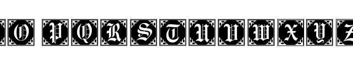 101! Antique Alpha Font LOWERCASE