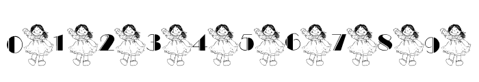 101! Ashleigh's Dolly Font OTHER CHARS